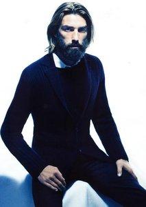 Barbas de moda: modelos barbudos (II)