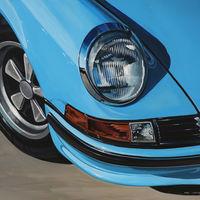 Manu Campa subasta un cuadro de un Porsche 911 y los fondos recaudados servirán para luchar contra el coronavirus