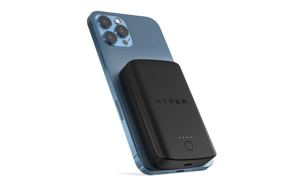 Hyper lanza una batería externa MagSafe para los iPhone 12