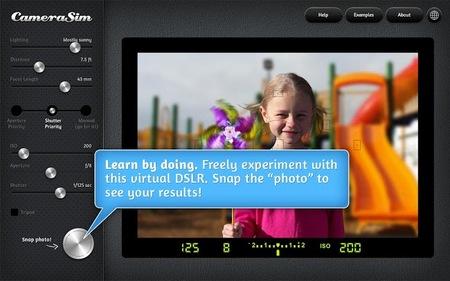CameraSim para aprender a usar la cámara ahora también en tu tablet