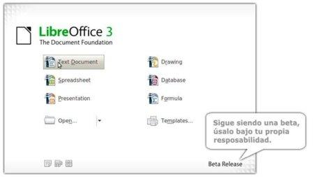 Libre Office sigue muy activo, anuncia su Beta 3