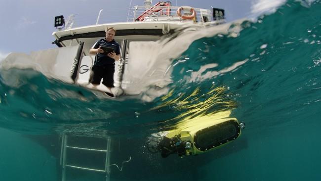 Matthew Dunbabin Test Model Rangerbot 1