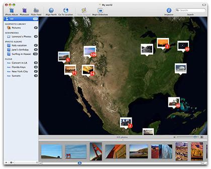 Geophoto: Geoposicionando en Mac