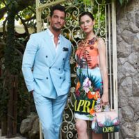 David Gandy y Bianca Balti vuelven a Capri con motivo del lanzamiento de la fragancia Light Blue Beauty of Capri