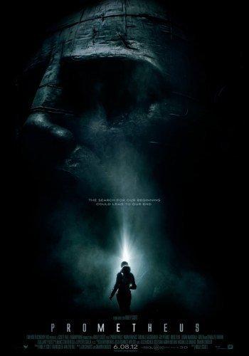 'Prometheus' de Ridley Scott, cartel