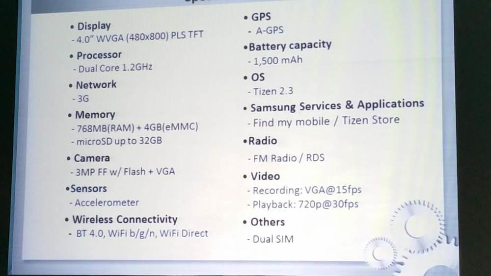 Foto de Samsung Z1 con Tizen (1/5)