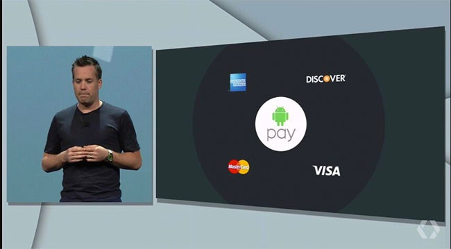 Android Pay Io15