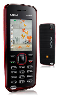 Nokia 5220 XpressMusic con Orange