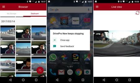 Drivepro Screen App 01