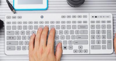 ¿Cuál es el secreto del camaleónico teclado de Jaasta? Pues... la tinta electrónica