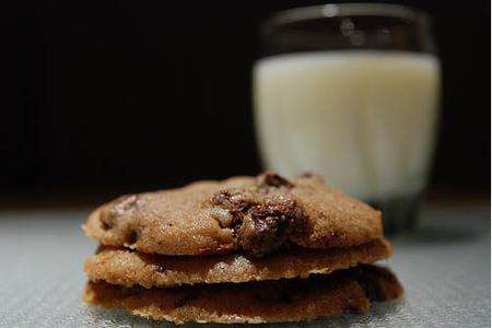 Leche con galletas de merienda, pero no cualquier galleta