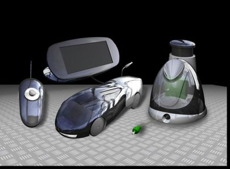 Corgi H2GO, coche a radiocontrol ecológico