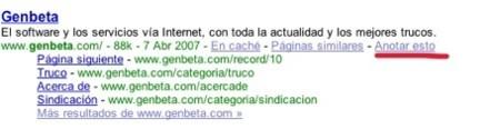 Añade resultados de búsquedas en Google Notebook, siempre que estés identificado