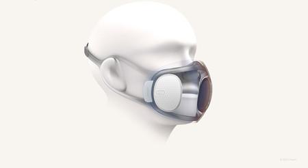 """Una mascarilla transparente que se """"autodesinfecta"""": así es Aeri, el proyecto que está llevando a cabo el fabricante de Amazfit"""