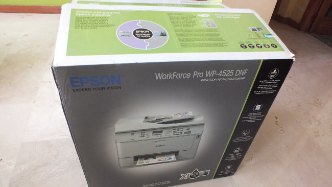 WorkForce Pro de Epson: unboxing y puesta en marcha