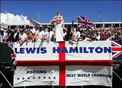 Lewis Hamilton sólo piensa en ganar en Silverstone