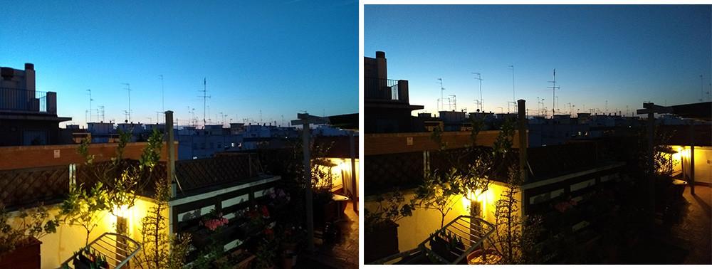 Comparativa Fotos Moto G5