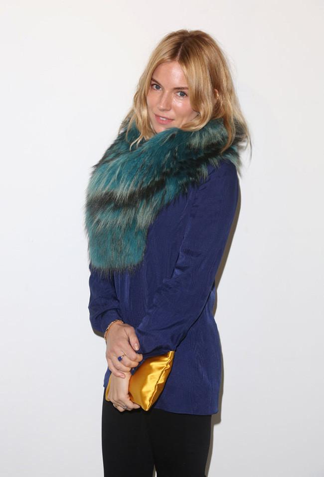 Sienna Miller Londres Semana Moda