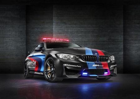 El BMW M4 Coupé Safety Car de MotoGP cambia de color y tiene inyección de agua