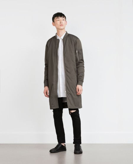 Zara Dark Collection Oversize Trendencias Hombre