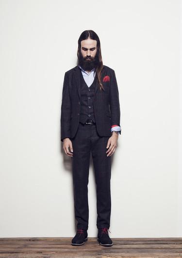 ¿Elegante y hipster? Es posible con Eduardo Rivera y su lookbook Otoño-Invierno 2013/2014