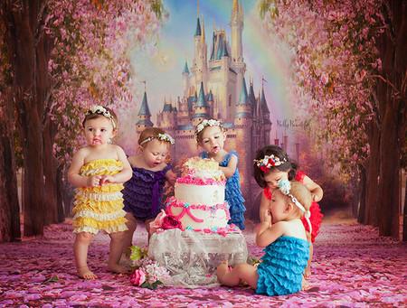 Sesion Princesas Disney Cake Smash 2