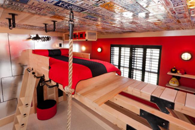Dormitorio deportista
