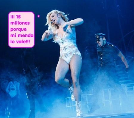 Le llaman la bien pagada...15 millones de dólares vale la participación de Britney en 'X Factor'