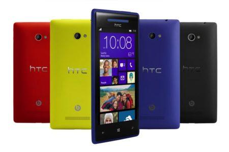 HTC 8X y 8S, sus nuevos y llamativos teléfonos