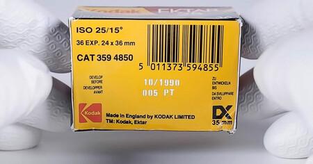 Probando un carrete de fotos en color Kodak Ektar 25 caducado hace más de 30 años