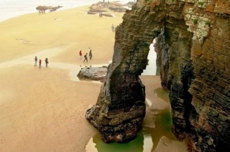 playa de las catedrales pelicula