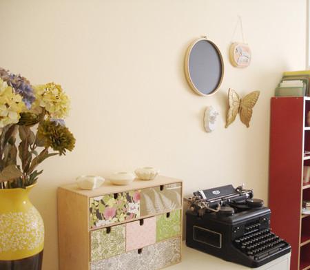 Hazlo tú mismo: personaliza con papel pintado tus cajas de herramientas