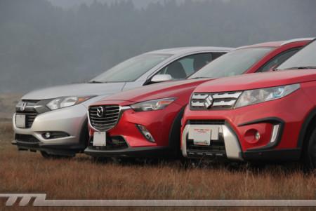 Mazda Cx 3 Honda Hrv Suzuki Vitara 5