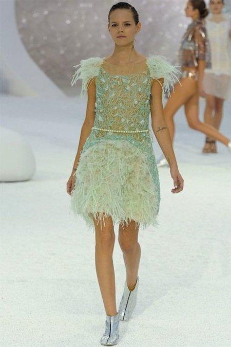 Chanel Primavera-Verano 2012: Lagerfeld saca lo mejor de sí mismo