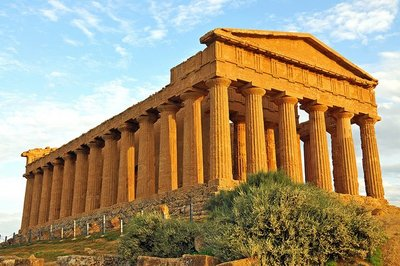 El Valle de los Templos de Agrigento, en Sicilia