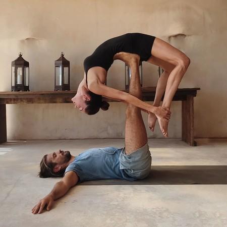 Así mantiene Eugenia Silva su asombrosa flexibilidad: práctica constante de Yoga y estiramientos