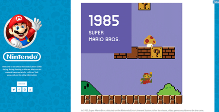 Nintendo Tumblr