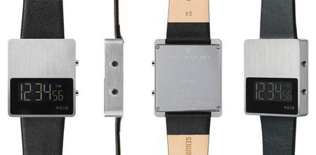 El emblemático reloj de VOID Watches en caja maciza