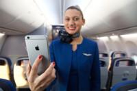 El iPhone 6 Plus surcará los aires como parte de la tripulación de United Airlines en 2015