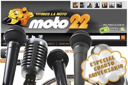 Cuarto aniversario de Moto22
