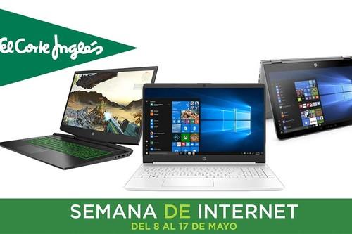 Estos portátiles ASUS, Acer, HP o Lenovo tienen los descuentos más interesantes en la Semana de Internet en El Corte Inglés