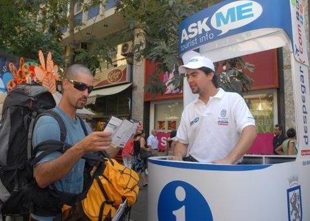 Chile: servicio de información turística móvil en su capital