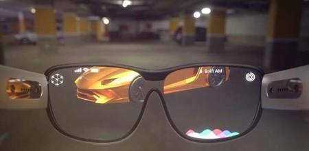 Prototipo de lentes de realidad aumentada de Apple