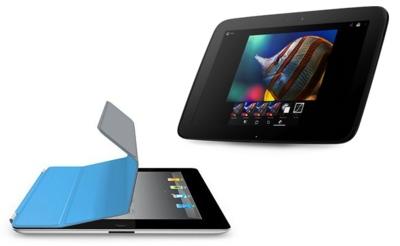 Nexus 10 frente a iPad 4