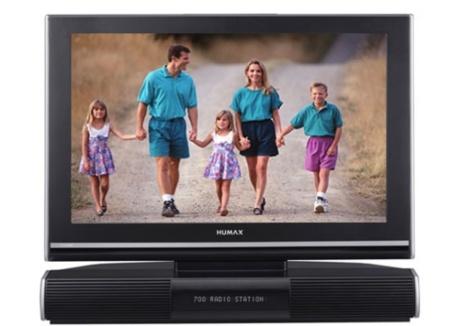 Televisor Humax con disco duro de 80 GB