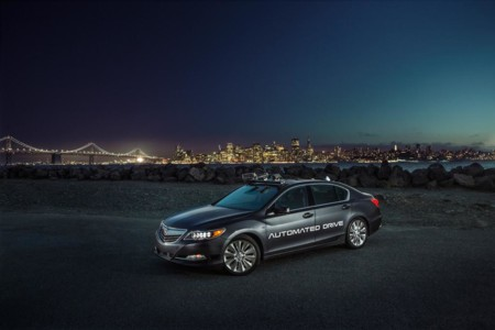 Acura insiste en eliminar a los conductores con la nueva generación de su Automated Drive