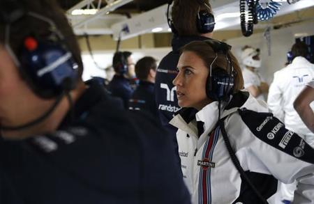 """Claire Williams: """"nuestros colaboradores querían saber qué pilotos ibamos a tener en 2015"""""""