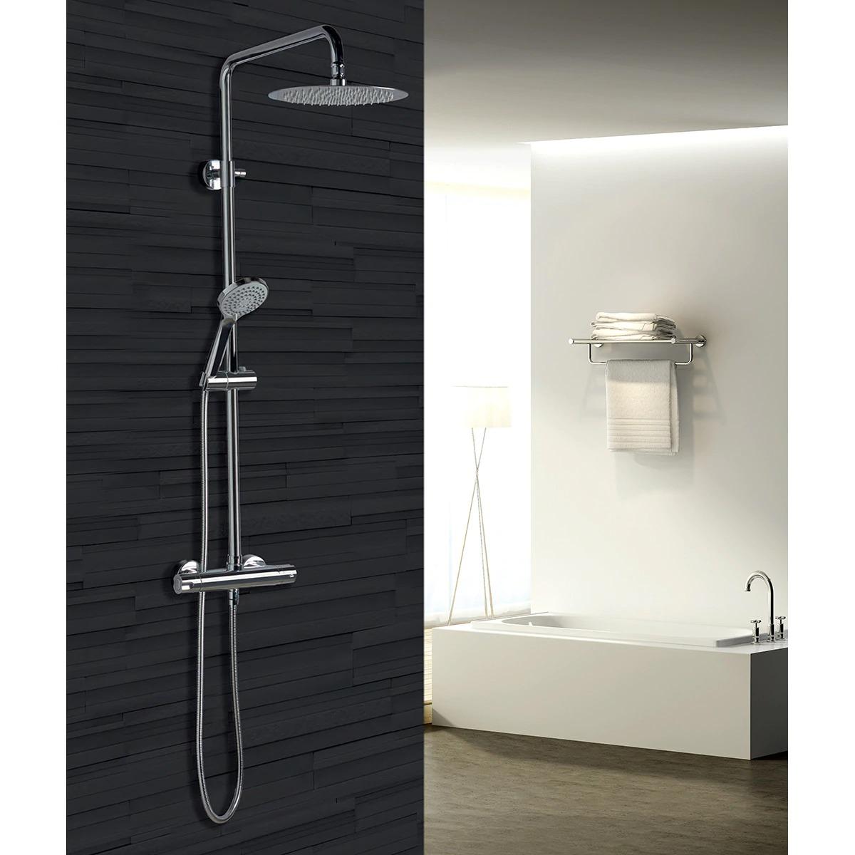 Conjunto de ducha termostática Bled Imex