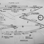 """La historia de la tesis de 1955 que inspiró el autódromo Hermanos Rodríguez, la primera, y única, pista de """"Formula 1"""" en México"""
