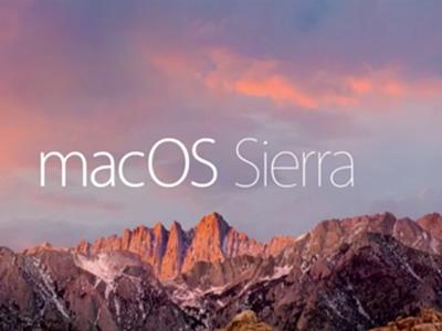 Adiós OS X, Apple le da la bienvenida a macOS Sierra